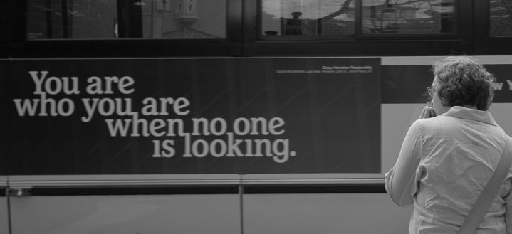 no one looking